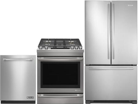 3 Piece Kitchen Appliance Package with JGS1450FS 30