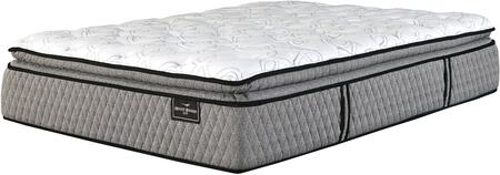 Mt Rogers Ltd Pillowtop Collection M83841 16 inch  Thick King Size Mattress with Ultra Soft Innerspring  Wrapped Coil System and High Density Foam in