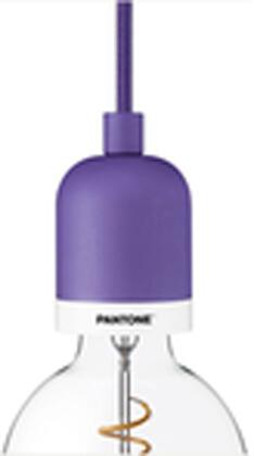 Pantone DB-COY18 Deneb Mini Pendant with 10 Feet Fabric Covered Cable  Steel  Aluminum Alloy and Fabric Covered Cable in Ultra