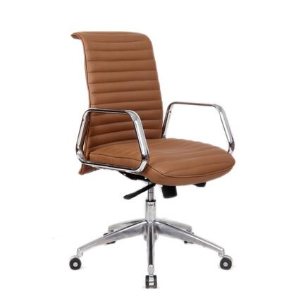 FMI10179-light brown Ox Office Chair Mid Back  Light
