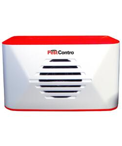 PR23 PestContro Battery Operated Portable Ultrasonic Rodent Repeller with LED Power Indicator Light and Audible Test
