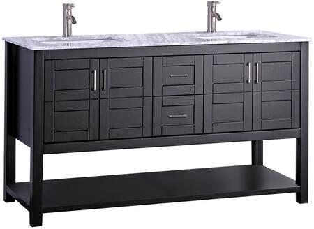 -2172E Norway 72 Single Sink Bathroom Vanity Set