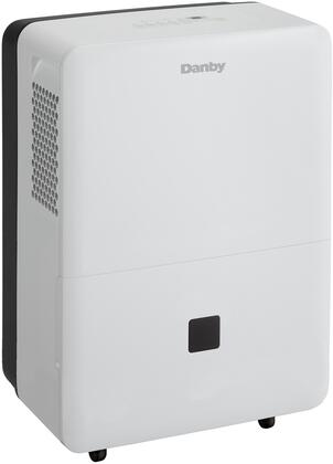 DDR070BDWDB Energy Star Compliant Dehumidifier with 70 Pints Capacity  4 Castors  Auto Restart  Auto De-Icer  Washable Air Filter  2 Fan Speeds and Electronic