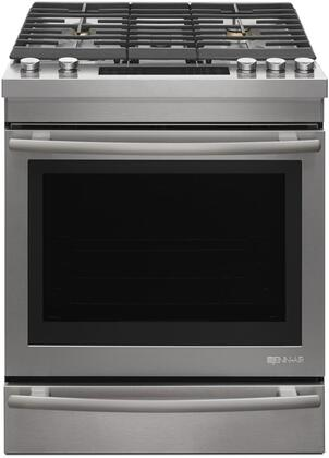 JDS1450DS 30 inch  Dual Fuel Slide In Range with 7.1 cu. ft. Capacity  5 Sealed Burners  3 Oven Racks  Baking Drawer  and Sabbath Mode  in Stainless