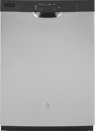 GDF511PSMSS 24 Dishwasher with Front Control  Dry Boost  Piranha Hard Food Disposer  Energy Star Qualified  in Stainless