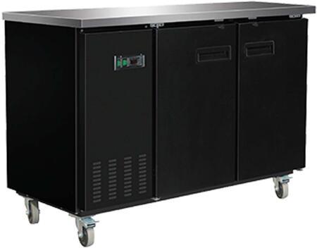 MXBB60 Freezer with 13.8 cu. ft.  Recessed Sliding Door Handle  Aluminum Interior  White Exterior  Light  Temperature Display  Front Facing Drainage  Front