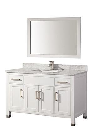 -6260SW Ricca 60 Single Sink Bathroom Vanity Set