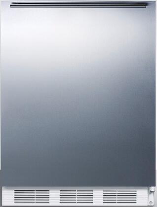 FF67SSHHADA 24 inch  FF67ADA Series Energy Star  ADA Compliant  Medical  Commercial Freestanding Compact Refrigerator with 5.5 cu. ft. Capacity  Crisper  Interior