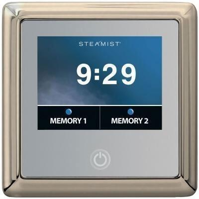 450T-PN Traditional Total Sense Steambath Residential Control  in Polished