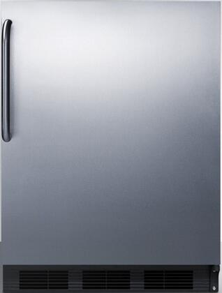 FF6B7SSTBADA 24 inch  FF67ADA Series Energy Star  ADA Compliant  Commercial  Medical Freestanding Compact Refrigerator with 5.5 cu. ft. Capacity  Hidden Evaporator