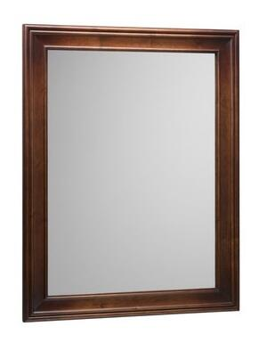 606127-F11 27 inch  x 35 inch  Traditional Style Wood Framed Mirror: Colonial