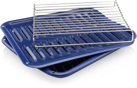 5304442087 Broiler Pan and Insert  in Cobalt
