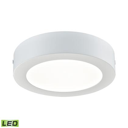 FML5150-AC-30 Ringo 1 Light Round LED Flushmount In Matte White -