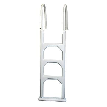 NE1142 Aluminum/Resin In-Pool Ladder for Above Ground