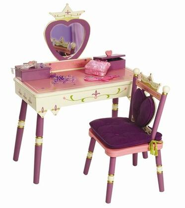 LOD20021 Princess Vanity Table & Chair