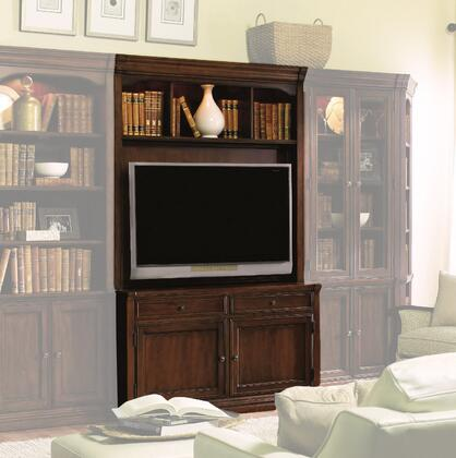 Cherry Creek Collection 258-70-554-454 2-Piece Entertainment Center with TV Console and Hutch in Distressed Medium