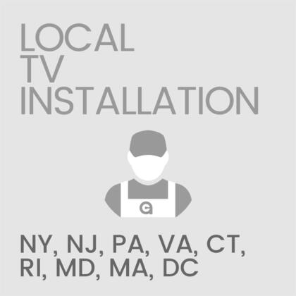 Local Installation of Television and Mount/Stand