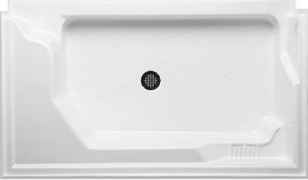 A6036STSL-WH Standard Series Shower Base / Receptor: