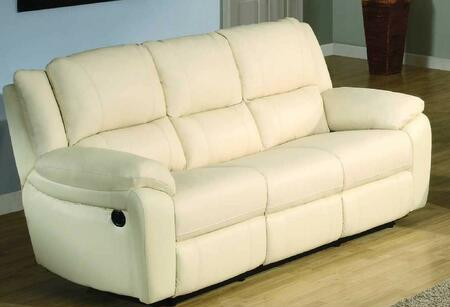 BA6636S-IV Baxter 85 inch  Leather Match Sofa in