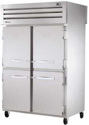 STG2RPT-4HS-2S Spec Series Two-Section Pass-Thru Refrigerator with 56 Cu. Ft. Capacity  LED Lighting and Solid Half Front and Solid Rear