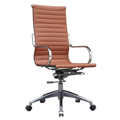 FMI10227-LIGHT BROWN Twist Office Chair High Back  Light