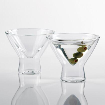 07070704 Steady-Temp Martini Glasses(Set of