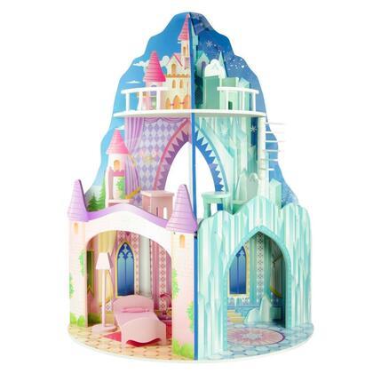 TD-11800C Teamson Kids - Dual Theme Dollhouse - Ice Mansion / Dream 530085