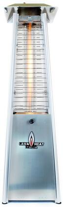 LHI-145 Liquid Propane 3 ft. Tall Table Top Patio Heater with 11 000 BTU Power Rating  2 ft. Heat Radius and Safety Tilt Switch in Stainless