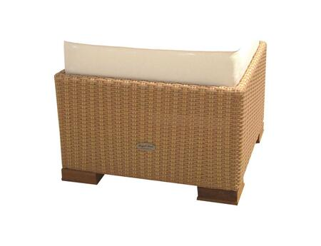 CHAFH 24 inch  Charleston Footrest in Honey with White