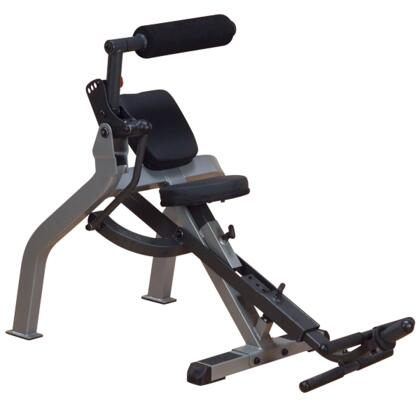 GAB350 Body Solid Synchornized-Recumbent Ab Bench with Clamshell Design and Adjustable Seat
