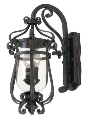 9231AC Hartford Outdoor 2-Light Small Wall Bracket Traditional Style  120V in Antique Copper