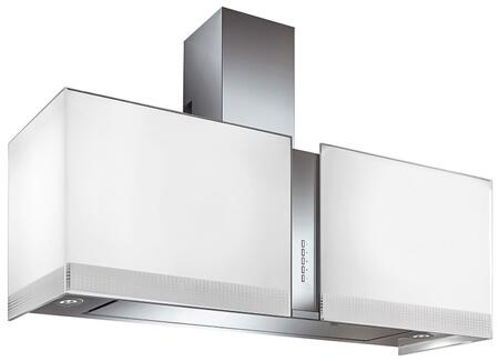 WL27MURFORTUNALED 27 inch  Murano Fortuna Series Range Hood with 940 CFM  4-Speed Electronic Controls  Delayed Shut-Off  Filter Cleaning Reminder  Internal