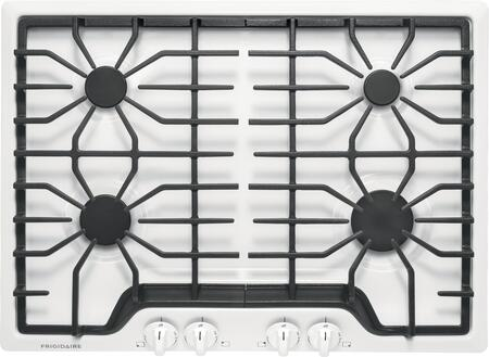 Frigidaire FFGC3026SW 30 Inch Wide Built In Natural Gas Cooktop with Ready Select Controls