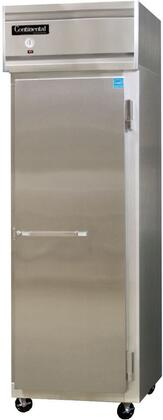 1FS 26 inch  Reach-In Freezer with 1 Section  in Stainless
