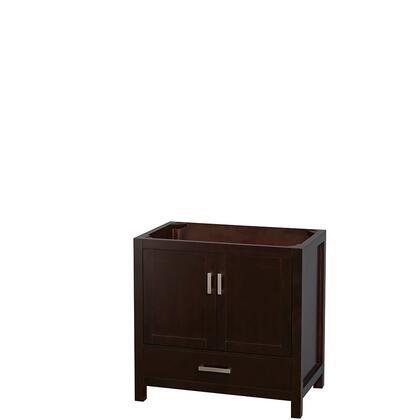 Wcs141436sescxsxxmxx 36 In. Single Bathroom Vanity In Espresso  No Countertop  No Sink  And No
