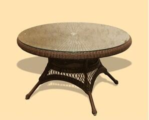 LEX-14M Sea Pines Dining Table (48) -
