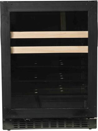 A124BEV-O 24 inch  Beverage Center with Field Reversible Door  ADA Compliant  Digital Display Control  Blue LED Interior Lighting  4 Glass Shelves  Auto Defrost  in