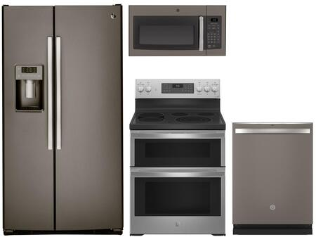 4-Piece Slate Kitchen Package with 33