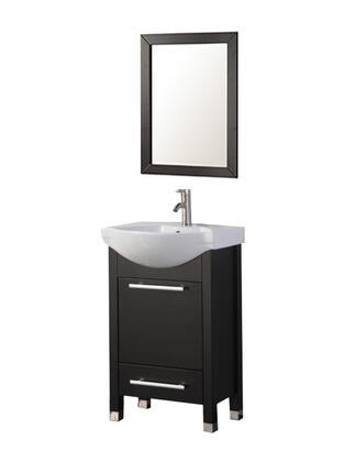 -6007E Peru 24 Single Sink Bathroom Vanity Set