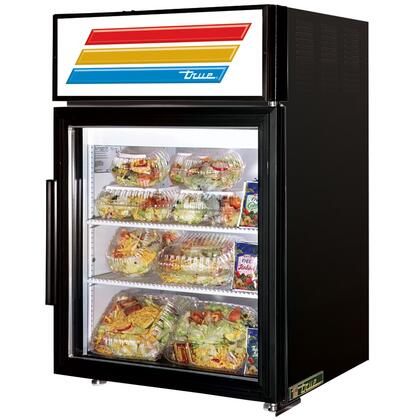 GDM-5-LD Counter-Top Refrigerator Merchandiser with 5 Cu. Ft. Capacity  LED Lighting  and Thermal Insulated Glass Swing-Door in
