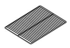 HALFRACK1 12-15/16 inch  x 19-3/4 inch  half size rack for 61 and 101 Blodgett Oven