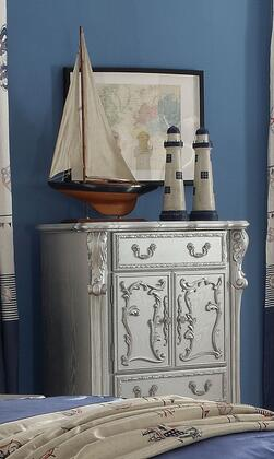 Dresden Collection 30686 36 inch  Chest with 3 Drawers  2 Doors  Claw Legs  Oversized Scrolled Apron  Poly Resin Ornamental Details and Solid Wood Construction in