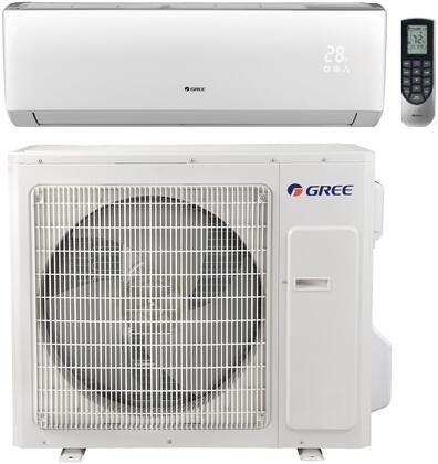 Gree VIR24HP230V1B 24,000 BTU 20 SEER Vireo+ Wall Mount Ductless Mini Split Air Conditioner Heat Pump 208-230V