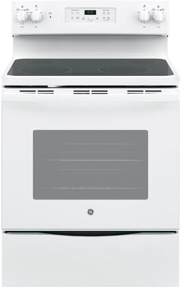 GE 5.3 Cu. Ft. Self-Cleaning Freestanding Electric Range White JB645DKWW