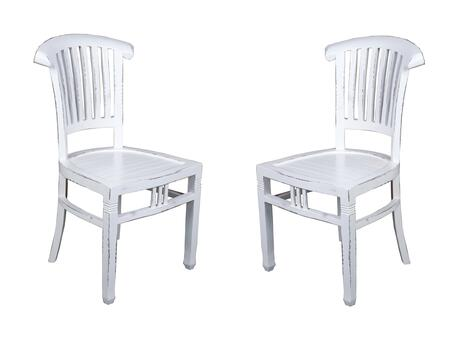 Shabby Chic Cottage Collection CC-CHA006LD-WW-2 Set of (2) 37