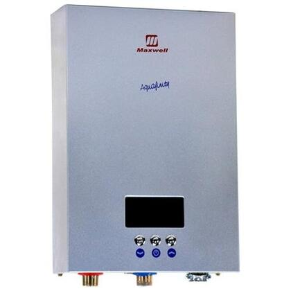 MS270C2TMU Aquafinity Collection Electric Tankless  Brushed Aluminum Metal Case  Water Heater 220 Volts  27 kW: Stainless