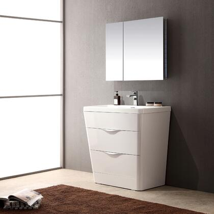 Click here for Milano Collection FVN8532WH 32 Modern Bathroom Van... prices