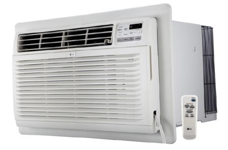 """LT1036HNR 25"""" Through The Wall Air Conditioner with Heating 10000 BTU Cooling Capacity 11200 BTU Heating Capacity 4 Way Air Direction Gold Fin Anti"""