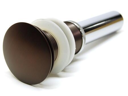 EB_D001RB 1 5/8 inch  Umbrella Pop Up Drain in Oil Rubbed Bronze