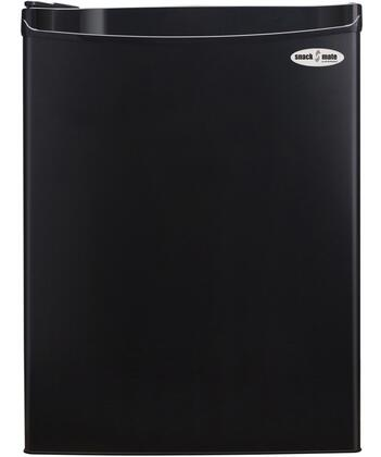 2.6SM4R Snackmate Series 2.6 Cu. Ft. Freestanding Compact Refrigerator with CanStor Beverage Dispenser  Tall Bottle Storage  and 2 Full and 1 Half Shelves in